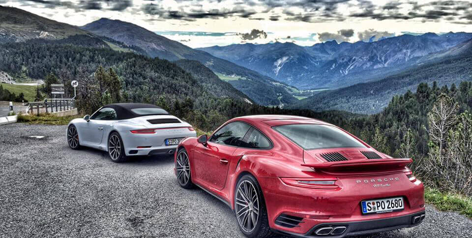 Porsche tur
